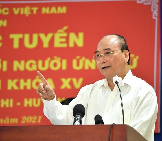 Chủ tịch nước Nguyễn Xuân Phúc: TPHCM muốn 'đại bàng' đến 'làm tổ' thì phải tạo thuận lợi cho nhà đầu tư   ảnh 1