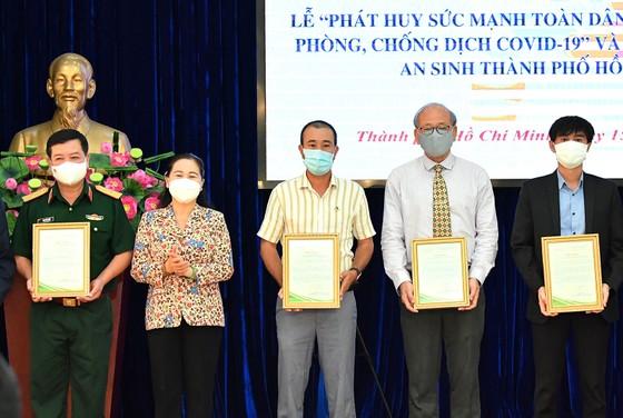 TPHCM phát động phong trào phát huy sức mạnh toàn dân tham gia phòng chống dịch Covid-19 ảnh 2