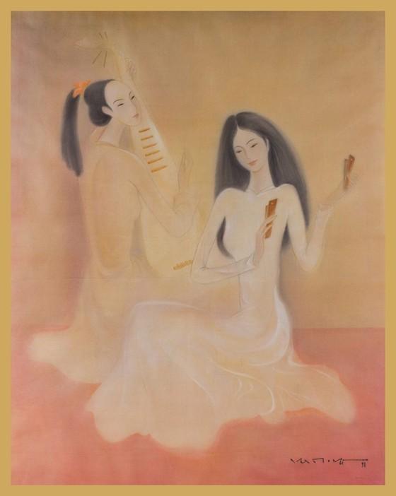 Nhiều tác phẩm của họa sĩ tên tuổi Việt Nam trong phiên đấu giá Chọn số 9 ảnh 3