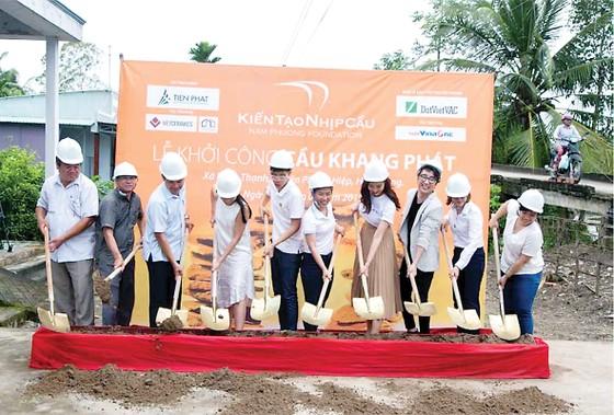 Tiến Phát tài trợ xây cầu Khang Phát tại tỉnh Hậu Giang ảnh 1