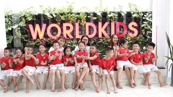 Hệ thống trường mầm non Worldkids: Tạo nền móng đầu tiên cho con trẻ ảnh 1