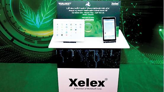 Máy tính bảng Xelex phục vụ phát triển kinh tế nông thôn ảnh 1