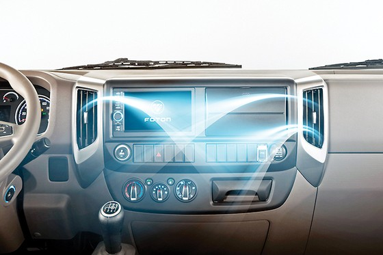 Foton M4 - xe tải cao cấp thế hệ mới của liên doanh Daimler - Foton ảnh 3
