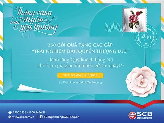 SCB ưu đãi trọn tháng 10 nhân Ngày Phụ nữ Việt Nam ảnh 1