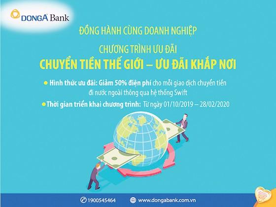 DongA Bank ưu đãi lớn về chuyển tiền quốc tế ảnh 1