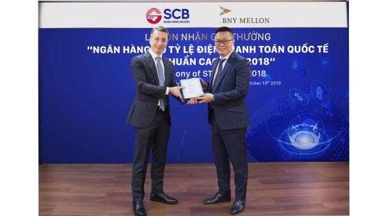 SCB nhận giải thưởng thanh toán quốc tế ảnh 1