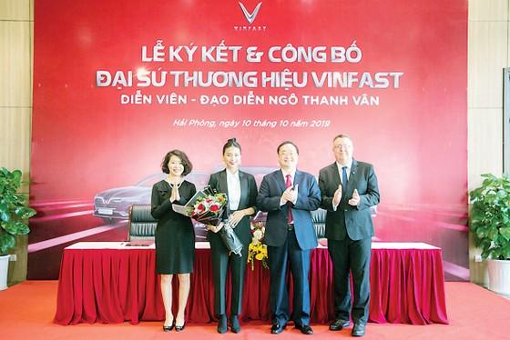 Ngô Thanh Vân làm đại sứ thương hiệu ô tô Vinfast  ảnh 1