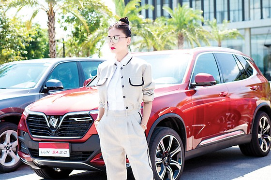 Ngô Thanh Vân làm đại sứ thương hiệu ô tô Vinfast  ảnh 3