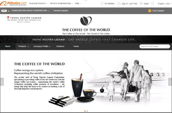 Trung Nguyên Legend khai trương Thế giới cà phê trên Amazon và Alibaba ảnh 1