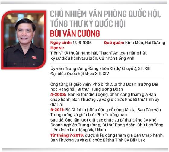 Đồng chí Bùi Văn Cường làm Tổng Thư ký Quốc hội ảnh 3