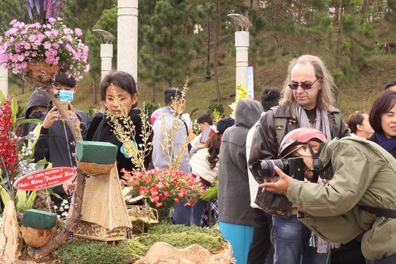 Xem người dân Đà Lạt và du khách trổ tài cắm hoa ảnh 11