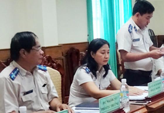 Bắt Chánh Văn phòng Cục Thi hành án Dân sự Bình Định ảnh 1