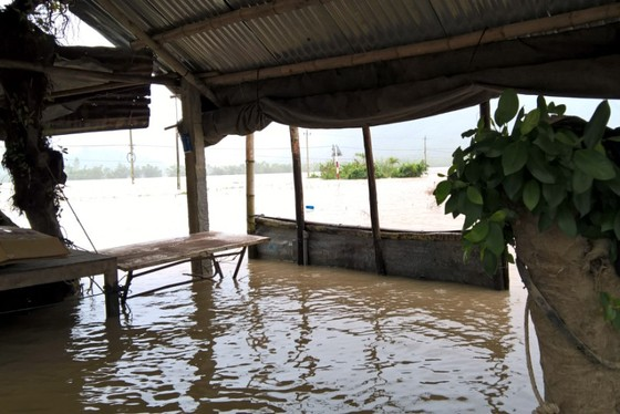 """Bình Định - Phú Yên: Mưa lũ tiếp tục hoành hành, nhiều địa phương chìm trong """"biển lũ"""" ảnh 4"""