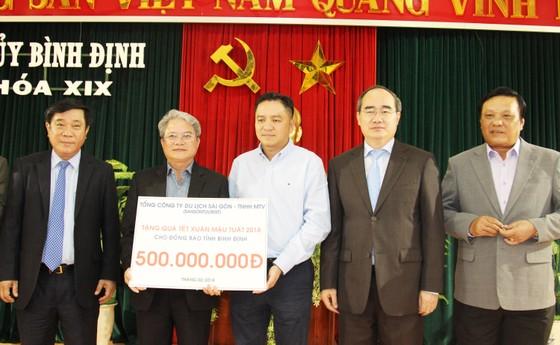 Đồng chí Nguyễn Thiện Nhân thăm, chúc Tết tỉnh Bình Định ảnh 8