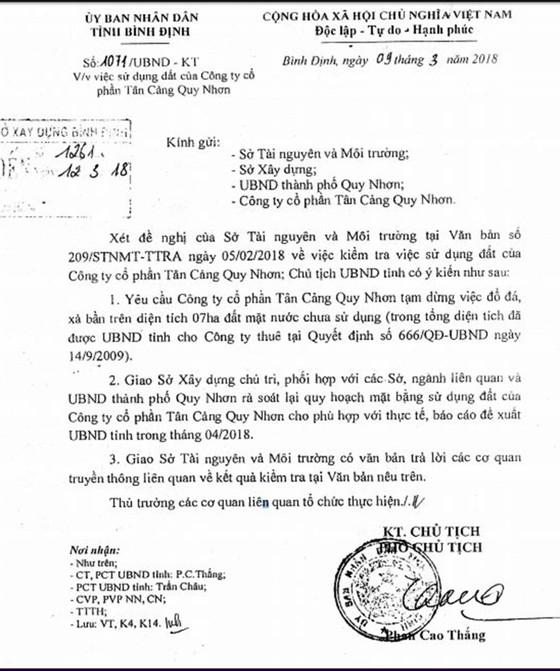 Bình Định yêu cầu DN tạm dừng các hoạt động xâm lấn cảng cá ảnh 4