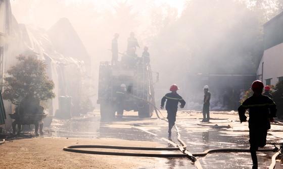 Cận cảnh hiện trường vụ cháy kinh hoàng tại Bình Định ảnh 3