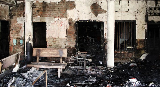 Ngôi chùa 55 tuổi ở Phú Yên bị lửa lớn thiêu rụi ảnh 7