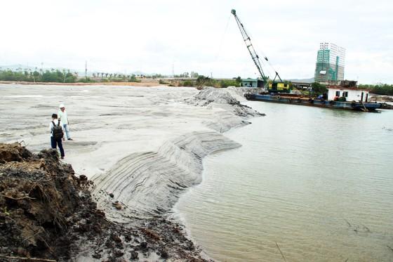 Bình Định chỉ đạo khẩn trương làm rõ trách nhiệm doanh nghiệp hút cát ở đầm Thị Nại ảnh 3