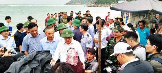 Tâm bão số 6 dự báo đổ bộ vào Bình Định, Phú Yên ảnh 1