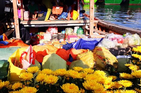 'Chở tết' ra đảo Cù Lao Xanh ảnh 4