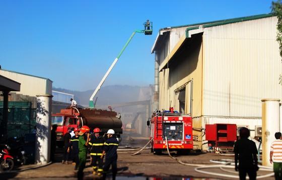 Lại xảy ra cháy tại khu công nghiệp Phú Tài, Bình Định ảnh 5