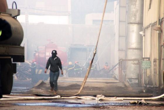 Lại xảy ra cháy tại khu công nghiệp Phú Tài, Bình Định ảnh 12