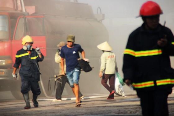 Lại xảy ra cháy tại khu công nghiệp Phú Tài, Bình Định ảnh 2