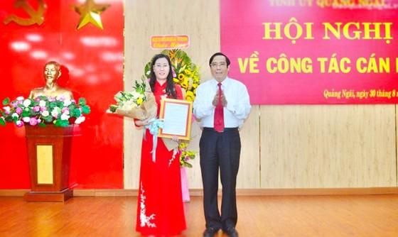 Bộ Chính trị chuẩn y Bí thư Tỉnh ủy Quảng Ngãi Bùi Thị Quỳnh Vân ảnh 1