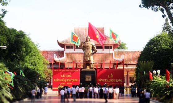 Bình Định tổ chức lễ giỗ Hoàng đế Quang Trung ảnh 1