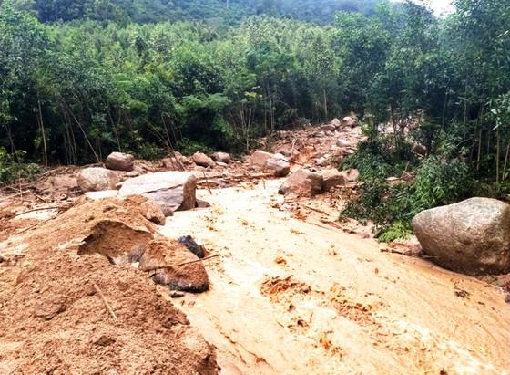 Bình Định báo cáo sự cố sạt lở tại Thủy điện Vĩnh Sơn 5 ảnh 7