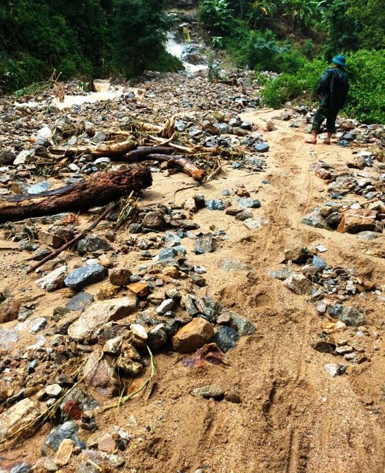 Bình Định báo cáo sự cố sạt lở tại Thủy điện Vĩnh Sơn 5 ảnh 8