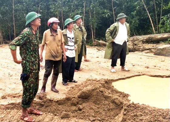 Bình Định báo cáo sự cố sạt lở tại Thủy điện Vĩnh Sơn 5 ảnh 9