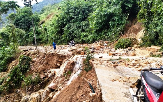 Bình Định báo cáo sự cố sạt lở tại Thủy điện Vĩnh Sơn 5 ảnh 5