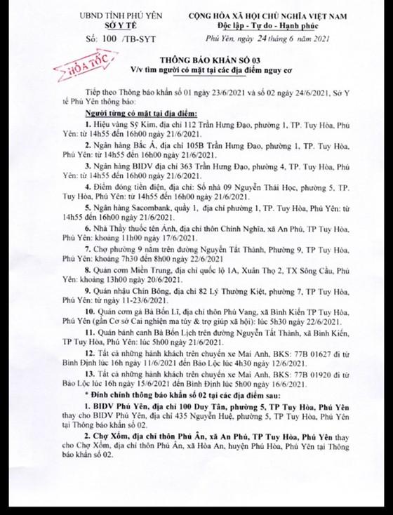 Phú Yên ghi nhận 10 trường hợp nghi mắc Covid-19   ảnh 2