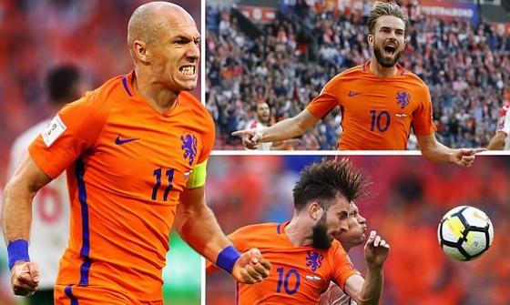Trận Hà Lan - Bulgaria 3-1