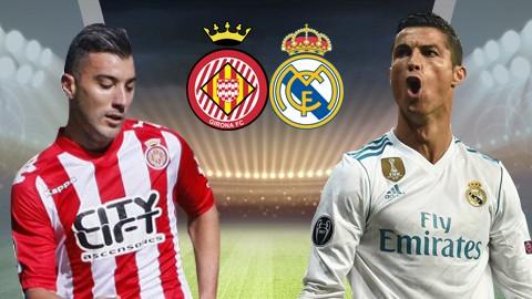 Girona - Real Madrid 2-1: Ronaldo tịt ngòi, Real để Barca bỏ xa