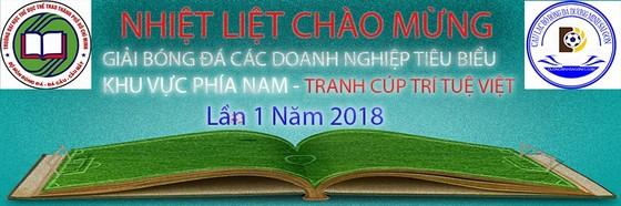 Giải bóng đá Doanh nghiệp trẻ tiêu biểu khu vực miền Nam tranh cúp Trí Tuệ Việt lần 1-2018 ảnh 1