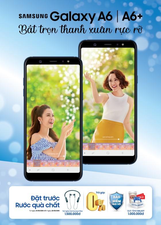 Đặt mua Samsung Galaxy A6 và A6+ với nhiều ưu đãi hấp dẫn