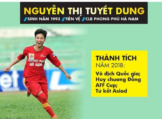 Trực tiếp Gala Trao giải QBV Việt Nam 2018: Tuyết Dung đoạt Quả bóng vàng nữ ảnh 13