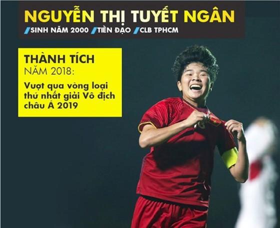 Trực tiếp Gala Trao giải QBV Việt Nam 2018: Tuyết Dung đoạt Quả bóng vàng nữ ảnh 29