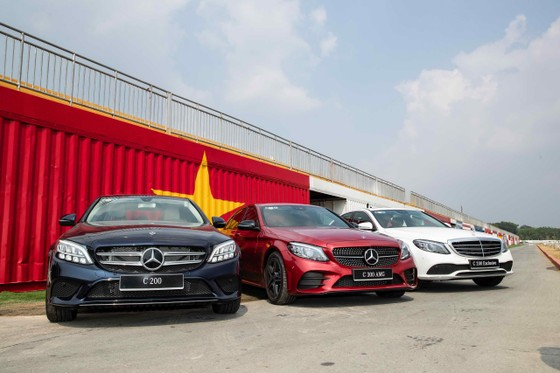 Mercedes-Benz C-Class nâng cấp đến Việt Nam