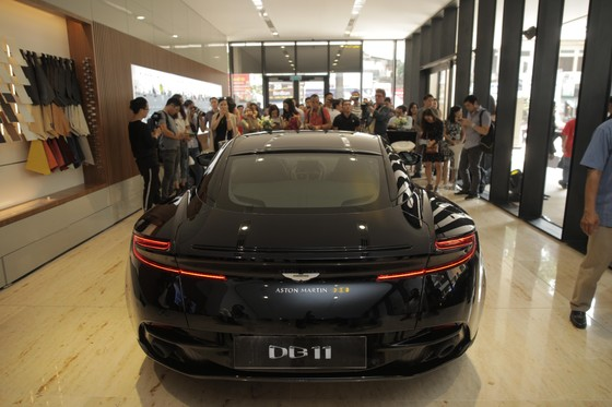Xe sang Aston Martin thâm nhập Việt Nam