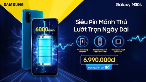 Samsung Galaxy M30s siêu pin