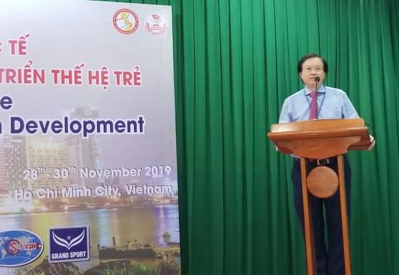 Đại học TDTT TPHCM khai mạc hội nghị 'Thể thao, Giáo dục thể chất và Phát triển thế hệ trẻ' năm 2019 ảnh 4