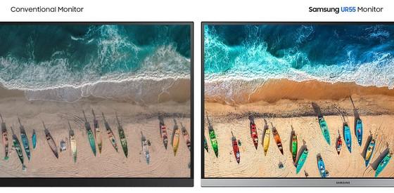 Màn hình UHD Samsung dùng cho thiết kế đồ họa và giải trí