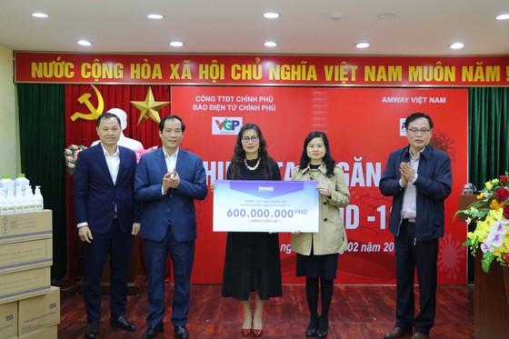 Amway Việt Nam chung tay cùng cộng đồng trong nỗ lực phòng chống dịch Covid-19  ảnh 2