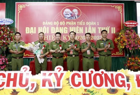 Đại hội Đảng bộ Tiểu đoàn 1, Trung đoàn Cảnh sát cơ động Đông Nam TPHCM 'Đoàn kết - Dân chủ Kỷ cương - Đổi mới' ảnh 2
