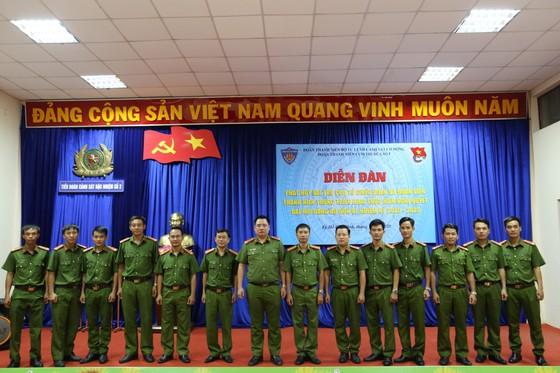 Cụm thi đua số 5 Đoàn Thanh niên Bộ Tư Lệnh CSCĐ tổ chức nhiều hoạt động kỷ niệm 75 năm ngày truyền thống lực lượng CAND ảnh 2