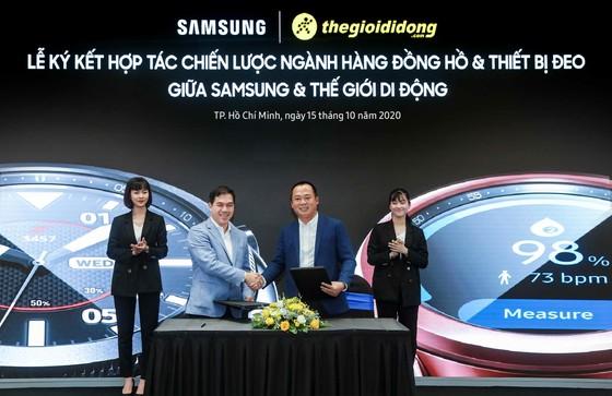 Samsung và Thế Giới Di Động hợp tác độc quyền phân phối Galaxy Watch 3