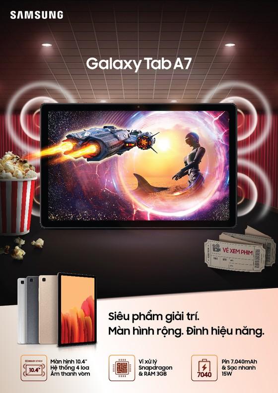 Galaxy Tab A7: Máy tính bảng giải trí đỉnh cao